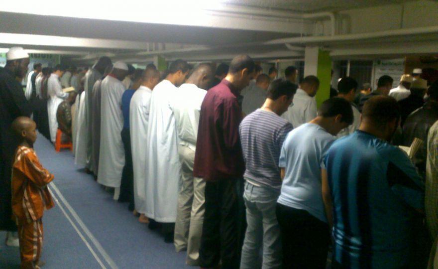 Tarawih Villejuif ramadan 2012
