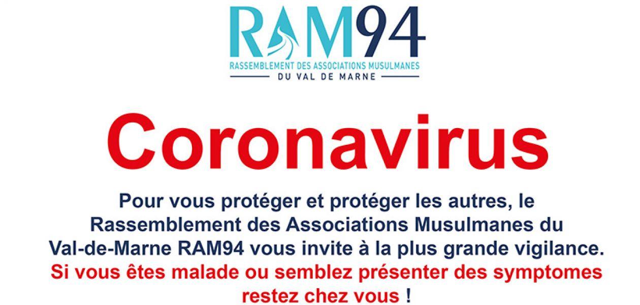 Coronavirus Mesures de précaution Mosquée Villejuif